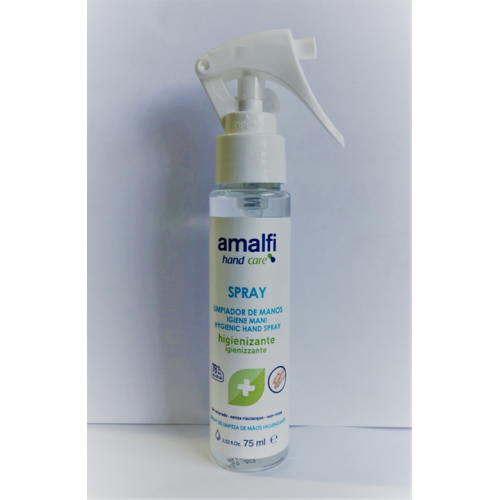 AMALFI ALCOOL 75ML SPRAY DESINFECTANTE