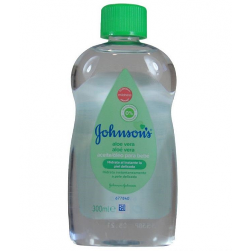 JOHNSON BABY OIL 300 ML ALOE VERA