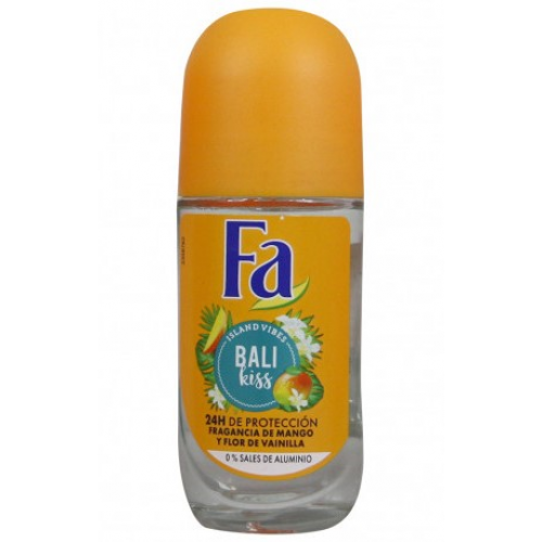 FA ROLL ON 50 ML BALI KISS