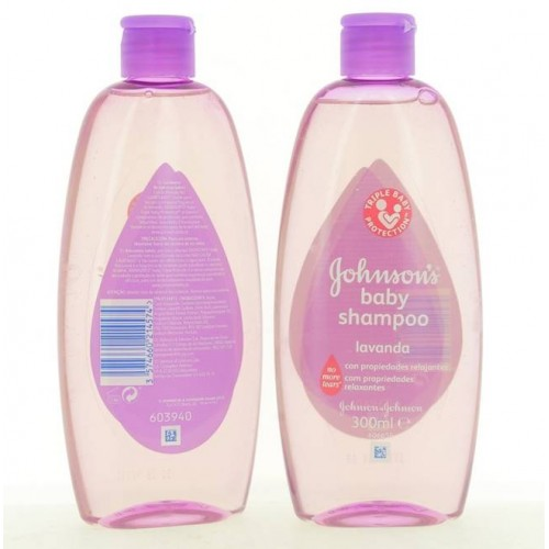 JOHNSON SHAMPOO BABY LAVANDA 300ML