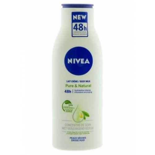 NIVEA BODY MILK 400ML PURE & NATURAL