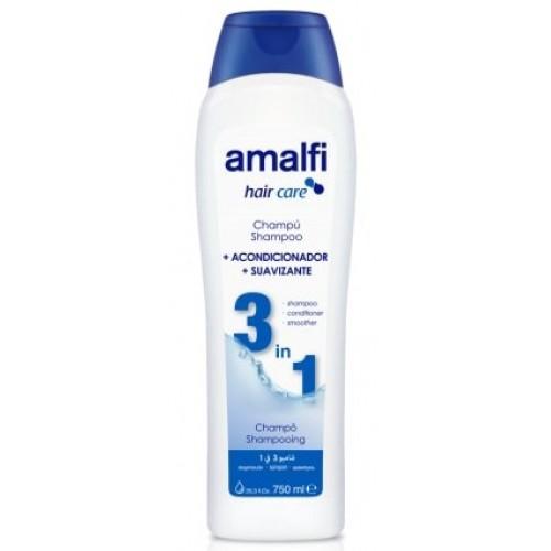 AMALFI SHAMPOO 3 EM 1 750 ML