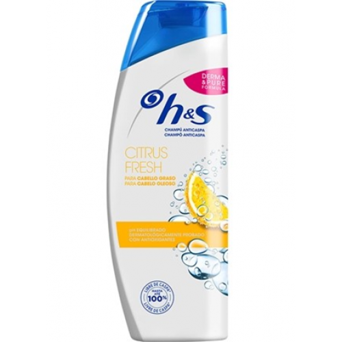 H&S SHAMPOO 270 ML CITRUS