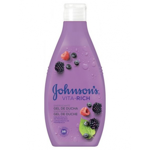 JOHNSON GEL DE BANHO 750ML VITA RICH FRAMBUESA