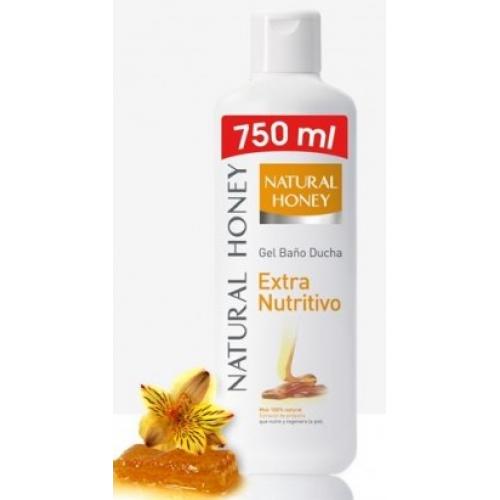 NATURAL HONEY GEL DE BANHO 750ML EXTRA NUTRITIVO