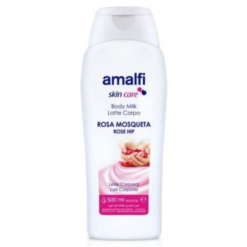 AMALFI BODY MILK 500ML ROSA MOSQUETA