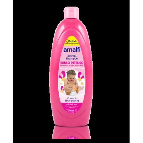AMALFI SHAMPOO 750ML BEBE BRILHO INTENSO ROSA