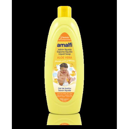 AMALFI GEL DE BANHO 750ML INFANTIL ALOE VERA