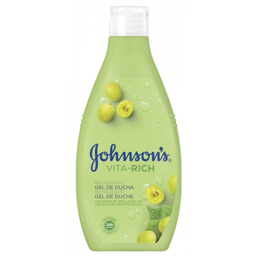 JOHNSON GEL DE BANHO 750ML VITA RICH UVAS