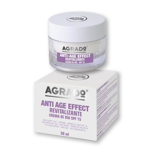 AGRADO CREME FACIAL 50ML ANTI - AGE EFFECT