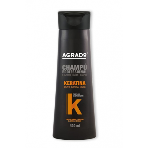 AGRADO SHAMPOO PROFISSIONAL 400ML KERATINA