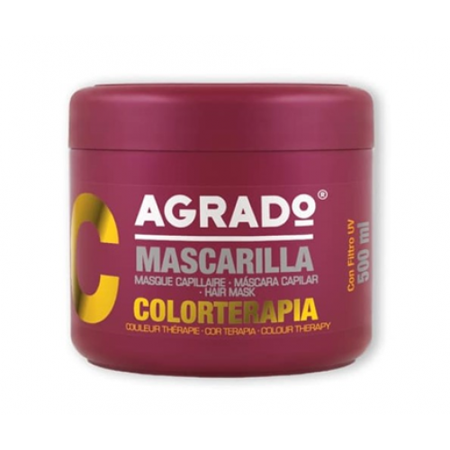 AGRADO MASCARA CAPILAR 500ML COLORTERAPIA