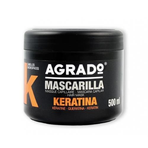 AGRADO MASCARA CAPILAR 500ML KERATINA