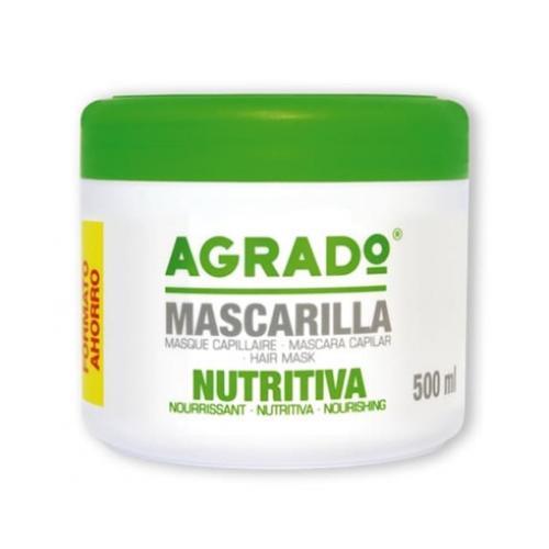 AGRADO MASCARA CAPILAR 500ML NUTRITIVA