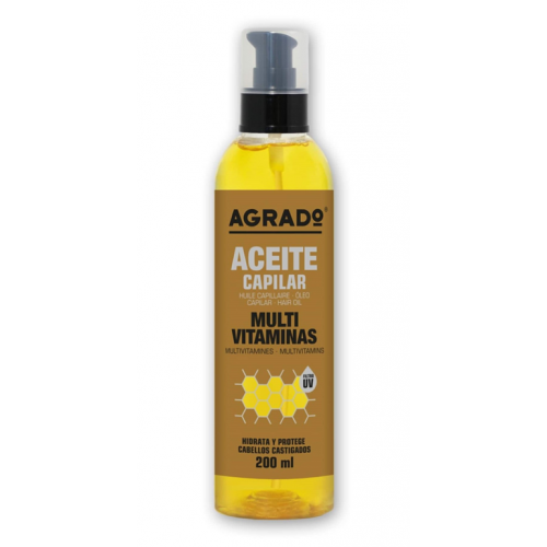 AGRADO OLEO CAPILAR 200ML MULTIVITAMINAS