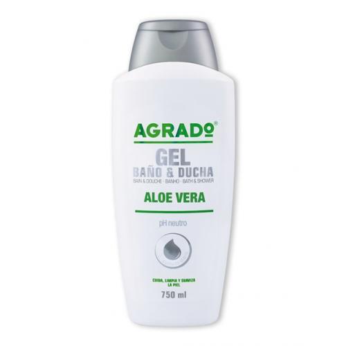 AGRADO GEL DE BANHO 750ML ALOE VERA