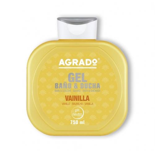 AGRADO GEL DE BANHO 750ML BAUNILHA