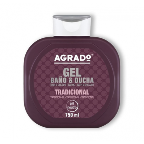 AGRADO GEL DE BANHO 750ML TRADICIONAL
