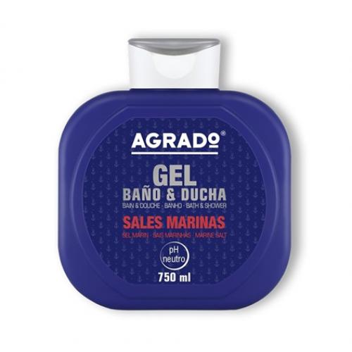 AGRADO GEL DE BANHO 750ML SAIS MARINHOS