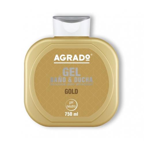 AGRADO GEL DE BANHO 750ML GOLD