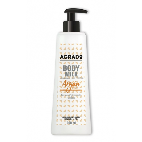 AGRADO BOBY MILK 400ML ARGAN