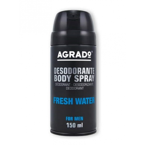 AGRADO BODY SPRAY 150ML FRESH WATER