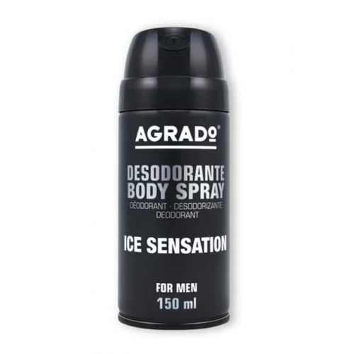 AGRADO BODY SPRAY 150ML ICE SENSATION