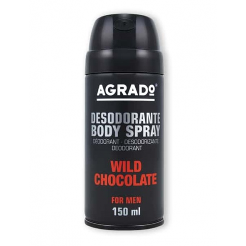 AGRADO BODY SPRAY 150ML CHOCOLATE