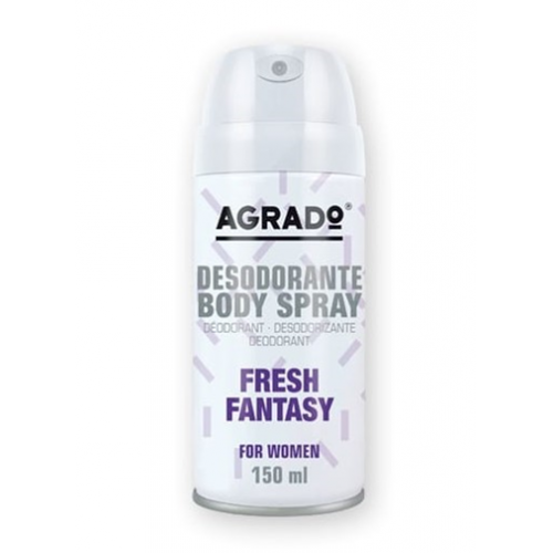 AGRADO BODY SPRAY 150ML FRESH FANTASY MULHER