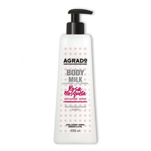 AGRADO BODY MILK 400ML ROSA MOSQUETA