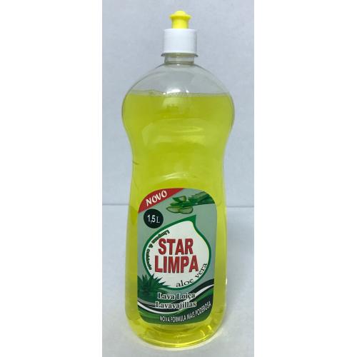 STAR LIMPA LAVA LOIÇA 1500 ML ALOE VERA