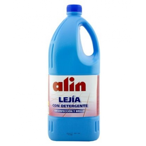 ALIN LIXIVIA 2LT AZUL COM DETERGENTE