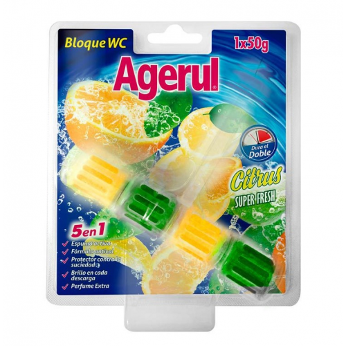 AGERUL BLOCO WC 50G CITRUS