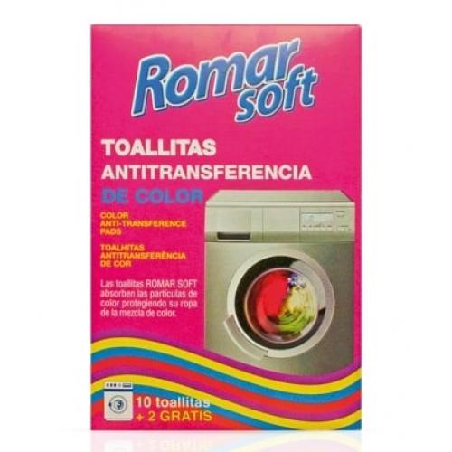 ROMAR TOALHITAS ANTI-TRANSFERÊNCIA DE CORES PARA MAQ LAVAR ROUPA