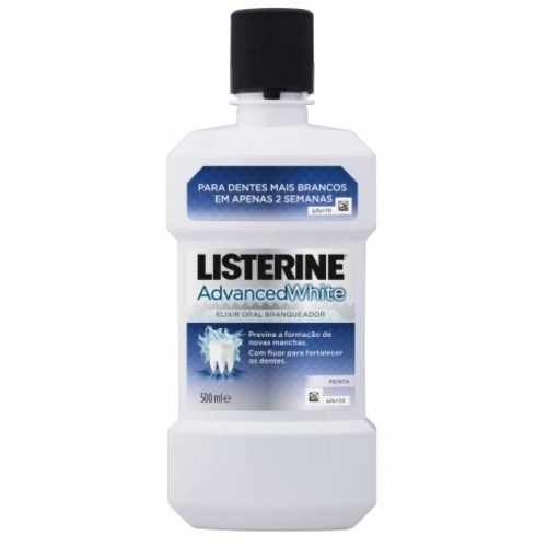 LISTERINE ELIXIR 500 ML ADVANCED WHITE