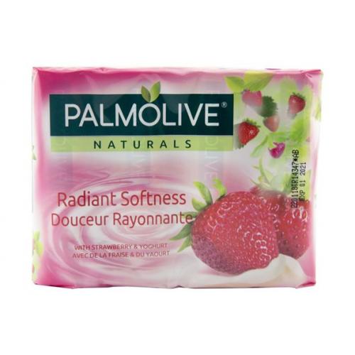 PALMOLIVE SABONETE PACK 4 90GR MORANGO