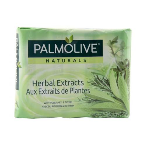 SABONETE PALMOLIVE PACK 4 90GR HERBAL