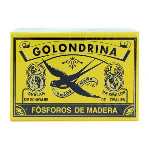 GOLONDRINA FÓSFOROS PACK3