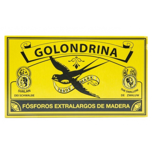 GOLONDRINA FÓSFOROS EXTRA LARGOS