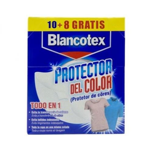 BLANCOTEX TOALHITAS PROTETORAS DE CORES 10+8UND MAQ LAVAR ROUPA