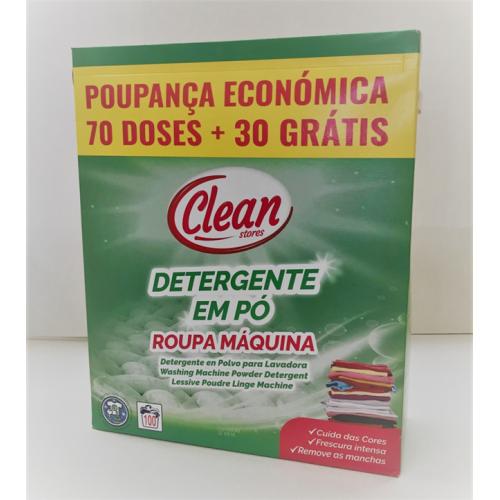 CLEAN DETERGENTE ROUPA PO 70+30D