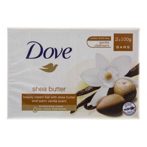 DOVE SABONETE 2*100GR PACK2 SHEA BUTTER