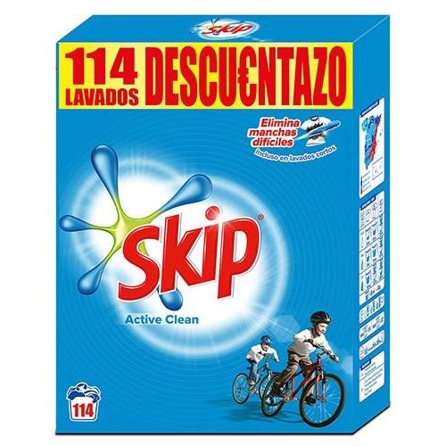 SKIP DETERGENTE PO ACTIVE CLEAN 114D