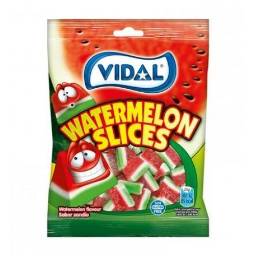 VIDAL GOMAS 100GR WATERMELON SLICES 1006612