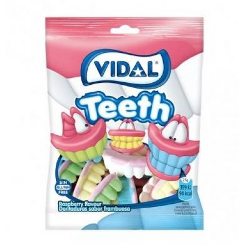 VIDAL GOMAS 100GR TEETH 1021501