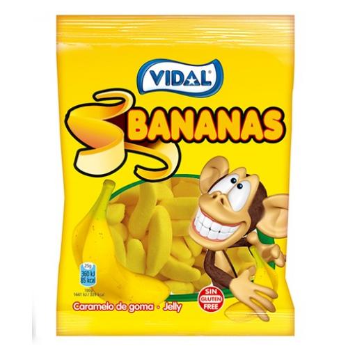 VIDAL GOMAS 100GR BANANAS 1002191