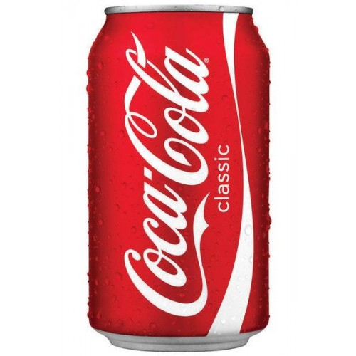 COCA COLA 330ML LATA