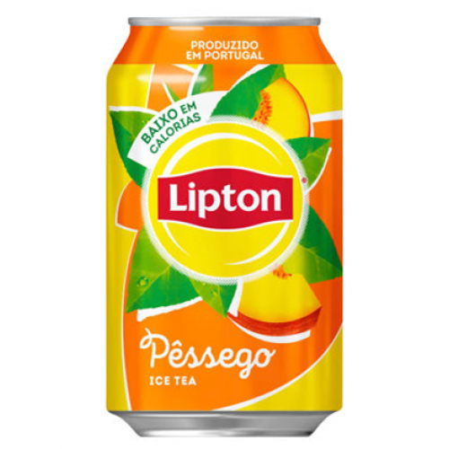 BEBIDA LATA LIPTON ICE TEA 330ML PESSEGO
