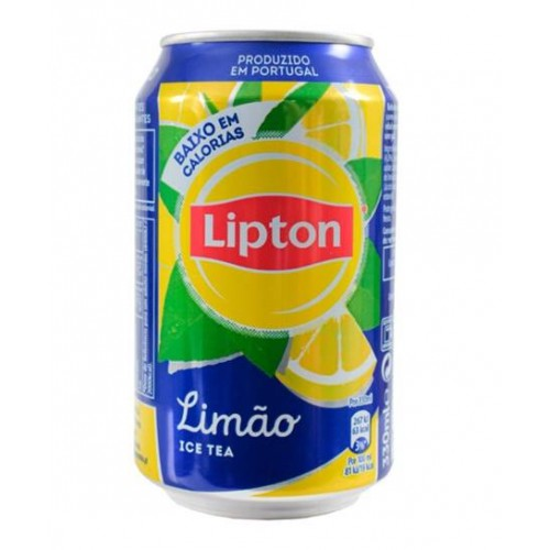 BEBIDA LATA LIPTON ICE TEA 330ML LIMÃO