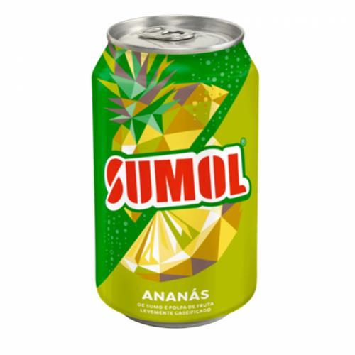 REFRESCO SUMOL LATA 330ML ANANAS